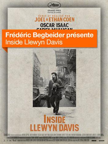 Inside Llewyn Davis vu par Frédéric Beigbeder