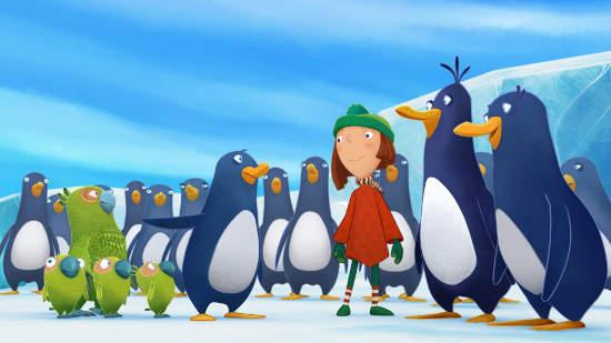 Jasper, pingouin explorateur