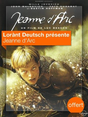 Jeanne d'Arc vu par Lorànt Deutsch