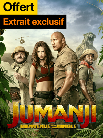 Jumanji : bienvenue dans la jungle - extrait exclusif offert