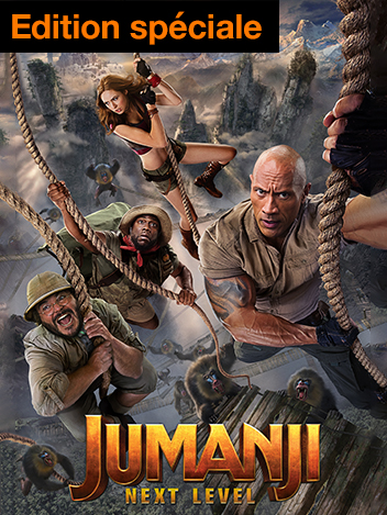 Jumanji : next level - édition spéciale