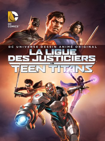 La Ligue des Justiciers vs Teen Titans