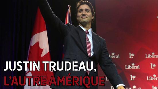 Justin Trudeau, l'autre Amérique