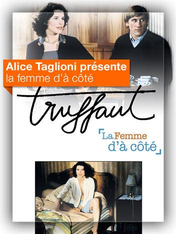 La femme d'à côté vu par Alice Taglioni