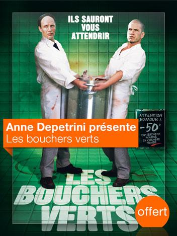 Les Bouchers verts vu par Anne Depetrini