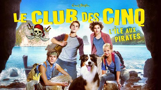 Le Club des cinq - l'ile aux pirates