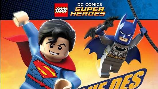 Lego DC comics la ligue des justiciers : L'Attaque de la légion maudite