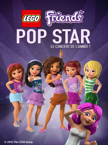 Lego Friends : Pop Star le concert de l'année