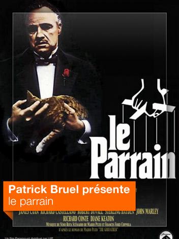 Le parrain vu par Patrick Bruel