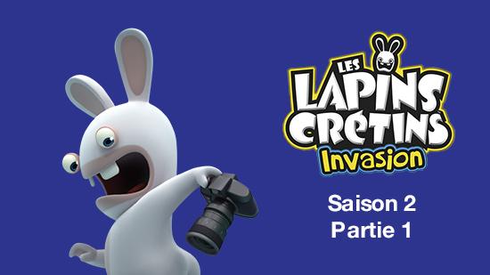 Les Lapins crétins : invasion S02
