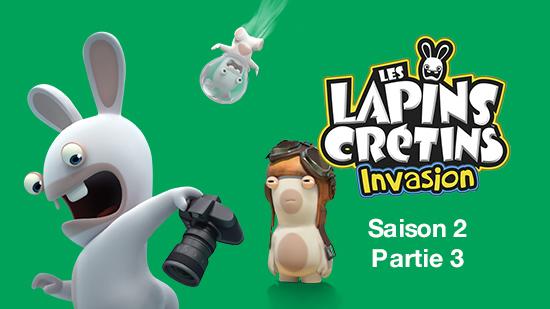 Les Lapins crétins : invasion S02 - partie 3