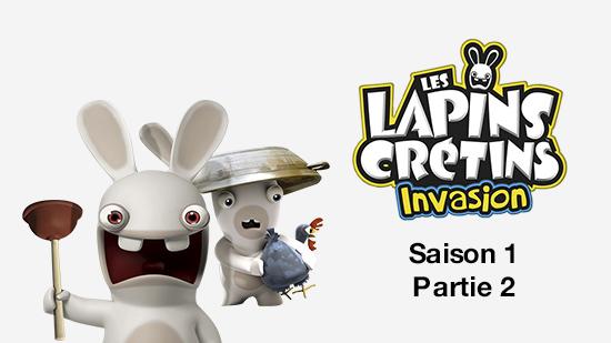 Les Lapins crétins : invasion partie 2