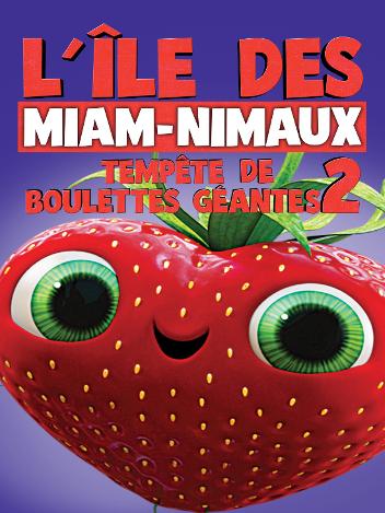 L'île des Miam-nimaux : tempête de boulettes géantes 2
