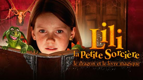 Lili la petite sorcière - le dragon et le livre magique