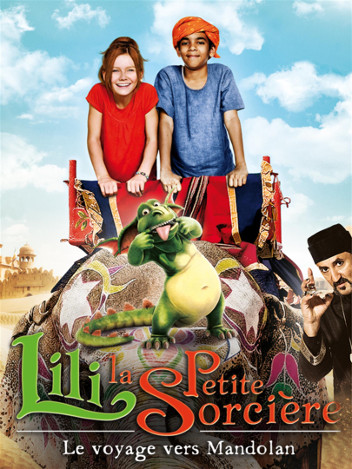 Lili la petite sorcière - le voyage vers mandolan