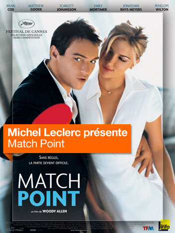 Match Point vu par Michel Leclerc