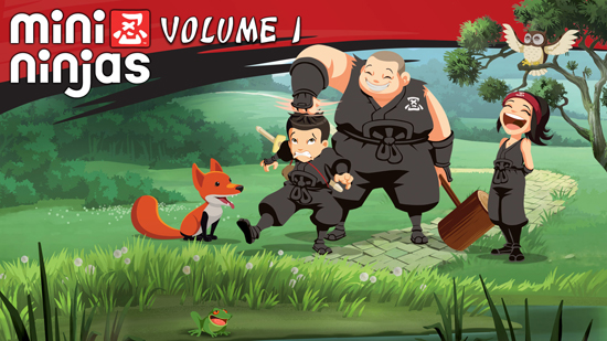 Mini Ninjas - Volume 01