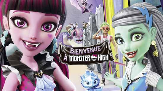 Bienvenue à Monster High !