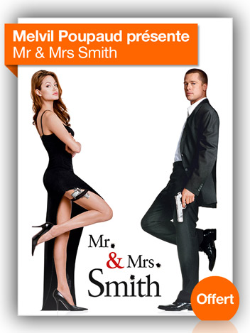 Mr. & Mrs Smith vu par Melvil Poupaud