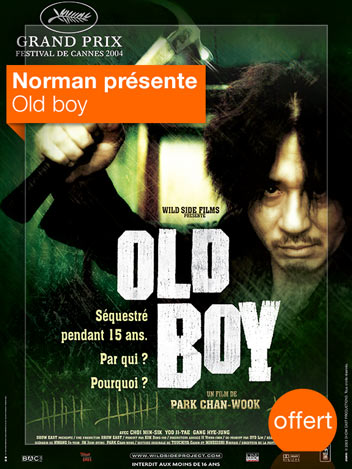 Old Boy vu par Norman