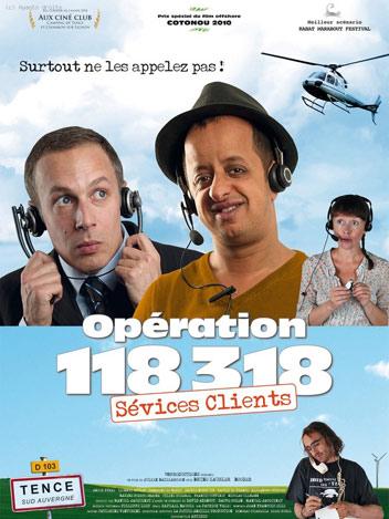 Opération 118 318, service clients