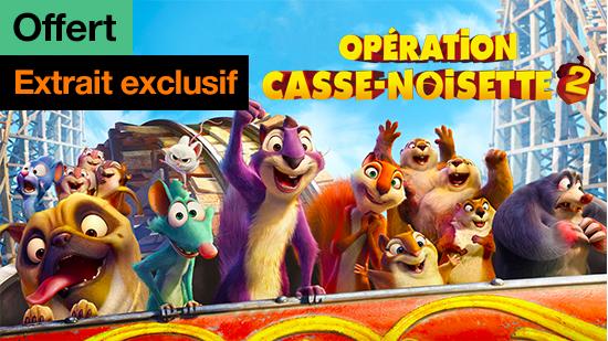 Opération casse-noisette 2 - extrait exclusif offert