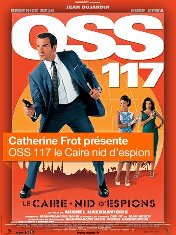 OSS 117, le Caire nid d'espions vu par Catherine Frot
