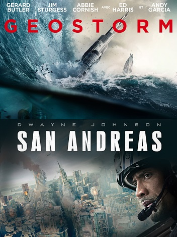 Collection Geostorm San Andreas