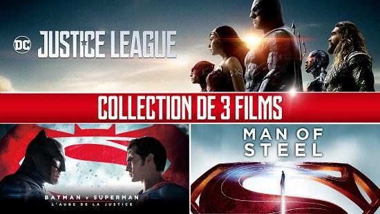 Collection Super-héros DC Comics (3films)