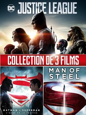 Collection Super-héros DC Comics (3films) - HD