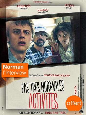 Pas très normales activités : interview Norman
