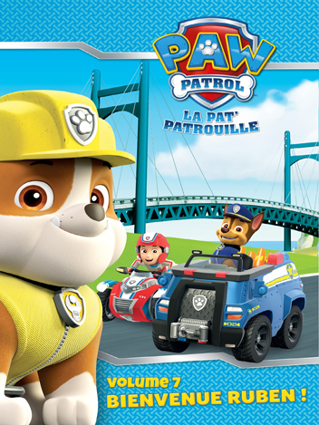 Paw Patrol : La Pat' Patrouille - Volume 07 - Bienvenue Ruben