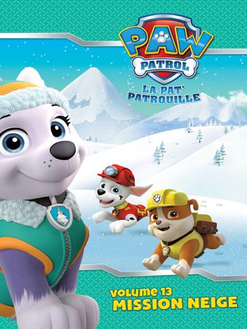 Paw Patrol : La Pat' Patrouille - Volume 13 - Mission neige