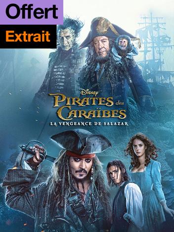 Pirates des Caraïbes : la vengeance de Salazar - extrait offert