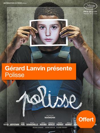 Polisse vu par Gérard Lanvin