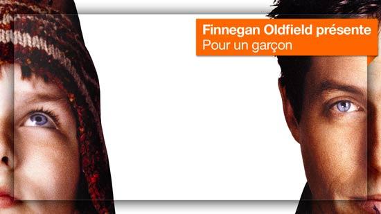 Pour un garçon vu Finnegan Oldfield