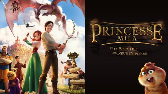 Princess Mila et le sorcier au coeur de pierre