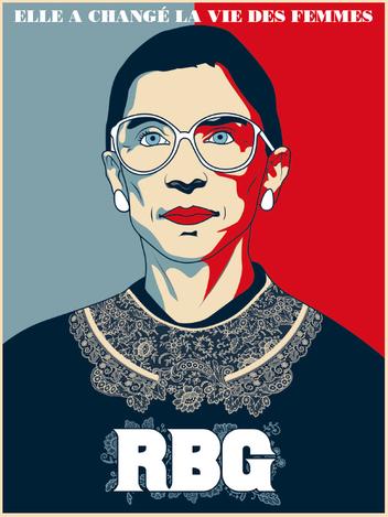 RBG : Ruth Bader Ginsburg