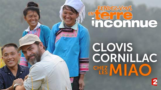 Rendez-vous en terre inconnue, Clovis Cornillac chez les Miao en Chine