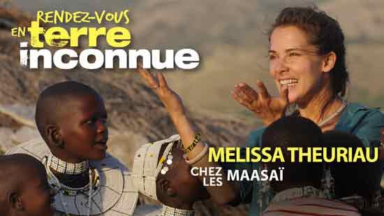Rendez-vous en terre inconnue - Mélissa Theuriau