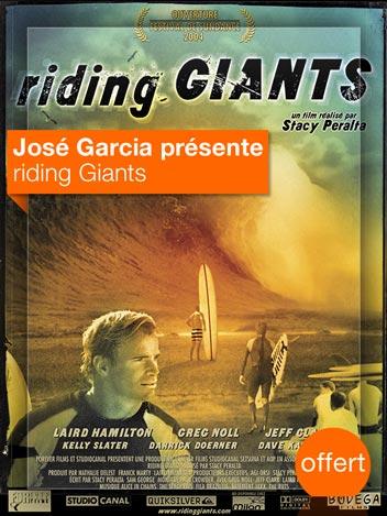 Riding Giants vu par José Garcia