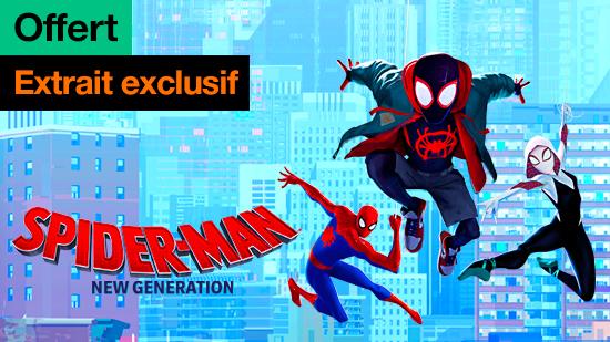Spider-Man : New Generation - extrait exclusif offert