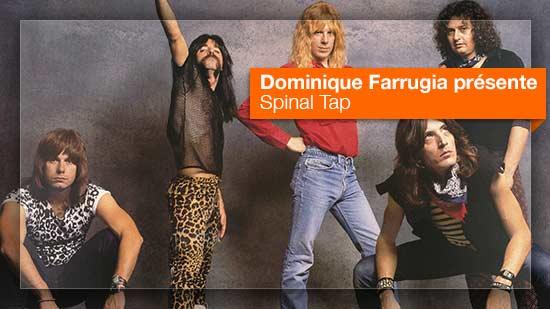 Spinal Tap vu par Dominique Farrugia