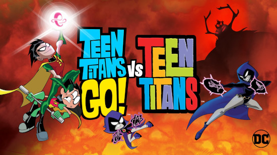 Teen Titans Go ! vs Teen Titans