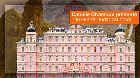 The Grand Budapest hôtel vu par Camille Chamoux