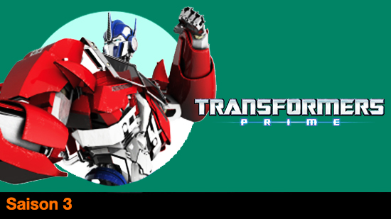 Transformers prime - S3