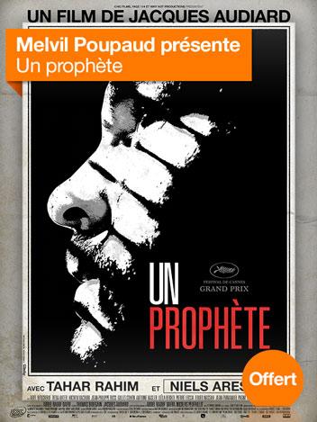 Un prophète vu par Melvil Poupaud
