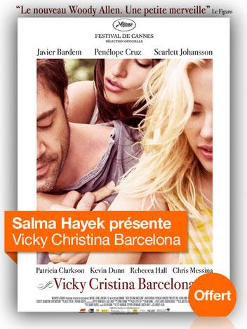 Vicky Cristina Barcelona vu par Salma Hayek