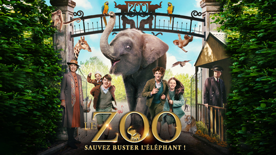 Le zoo : Sauvez Buster l'éléphant