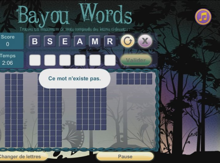 Bayou Words